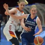 Vandersloot, the WNBA Star of the Near East Angels, Lives Her Career Year